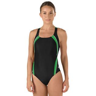 Women's Taper Splice Pulse Back Swimsuit