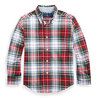 Boys' [5-7] Cotton Madras Shirt