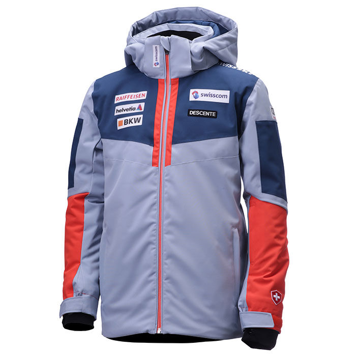 Junior Boys' [12-16] Swiss Ski Team Replica Jacket