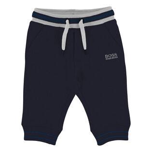 Boys' [6M-3Y] Striped Jogger Pant