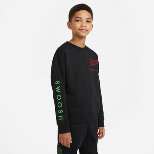Junior Boys' [8-16] Sportswear Swoosh Crew Sweatshirt