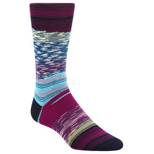 Men's Melange Yarn Stripe Sock
