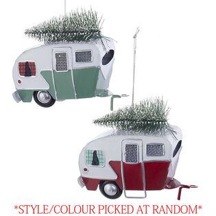 Camping Car Ornament