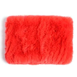 Women's Fur Funnel Neck Gaiter