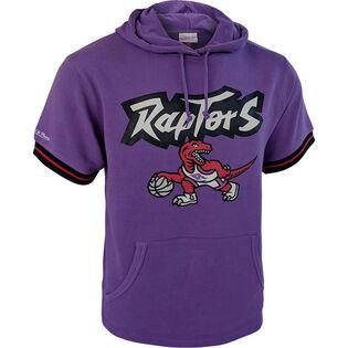 Men's Toronto Raptors Short Sleeve Hoodie