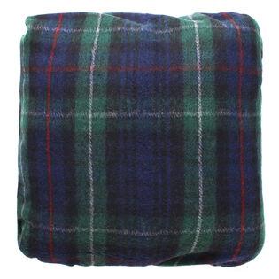 Tartan Wool Throw Cushion