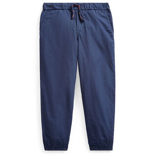 Boys' [2-4] Cotton Poplin Jogger Pant