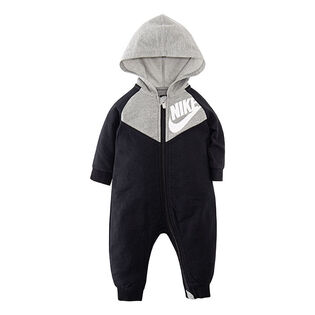 Baby Boys' [0-9M] Hooded One-Piece Coverall