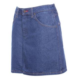 Women's Wrangler® Checkerboard Denim Skirt