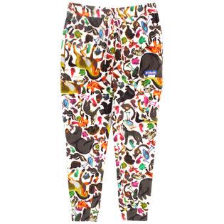 Pantalon en molleton imprimé pour hommes