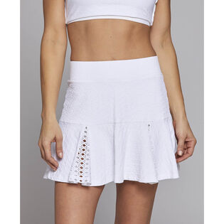 Women's Hidden Pleated Flower Skort