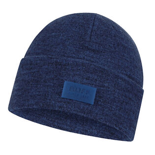 Unisex Olympian Blue Merino Wool Fleece Hat