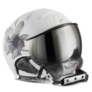 Lifestyle Lady Hybiscus Snow Helmet