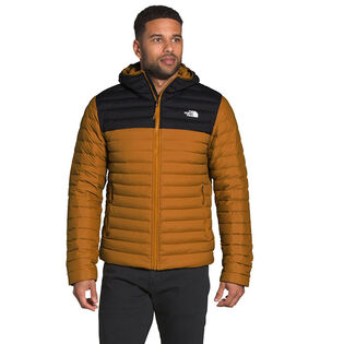Men's Stretch Down Hoodie Jacket