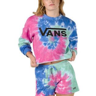 Women's Dye Job Crop Crew Sweatshirt