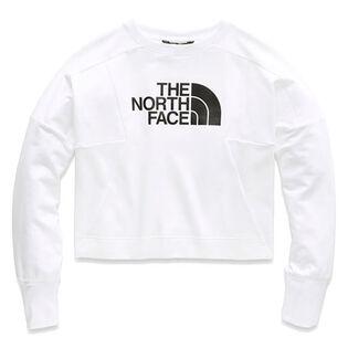 Women's Train N Logo Crop Pullover Sweater