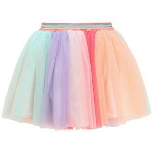 Girls' [4-6] Rainbow Tulle Skirt