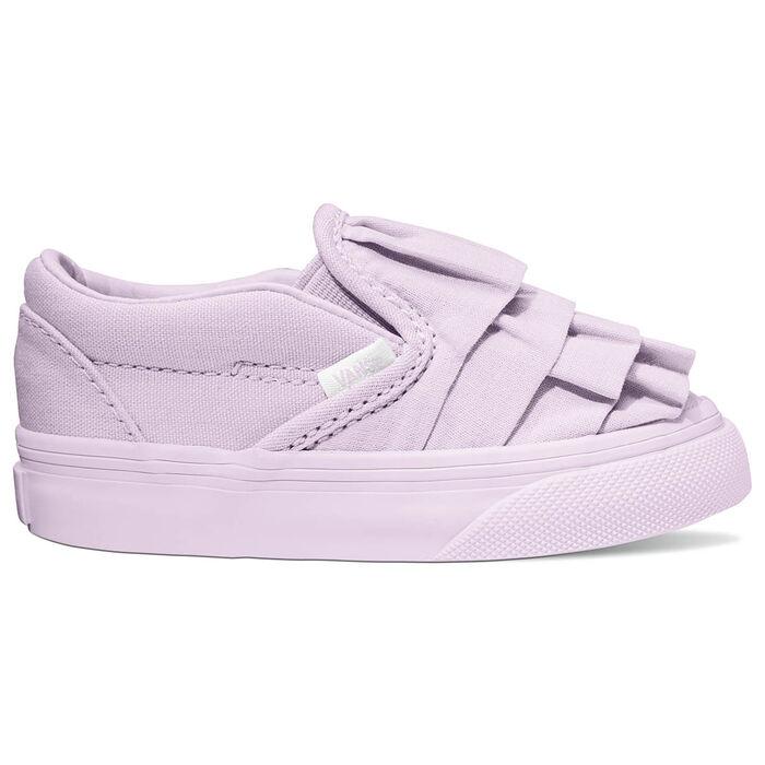 Babies' [3-10] Ruffle Slip-On Shoe
