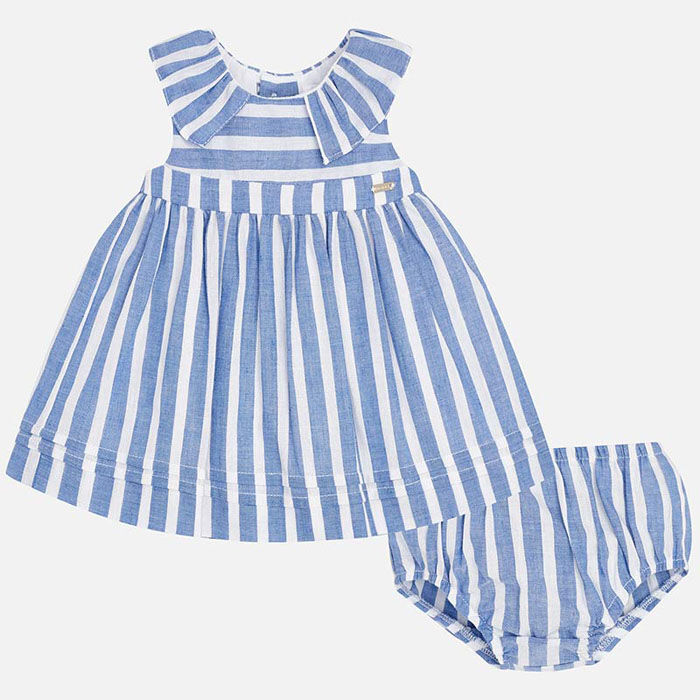 Baby Girls' [0-18M] Striped Dress