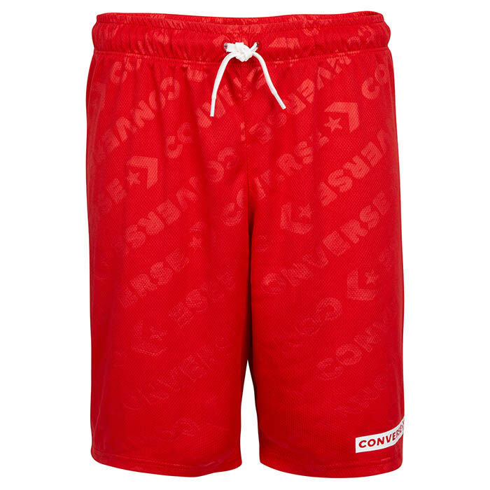 Junior Boys' [8-16] Mesh Logo Short