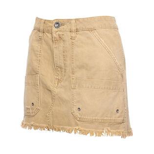 Women's Canvas Relaxed Mini Skirt