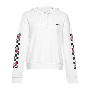 Women's Floral Check Hoodie