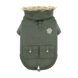 Army Parka Dog Jacket (Size 12)