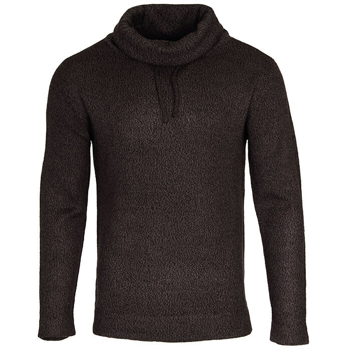 Men's Knit Funnel Neck Sweater