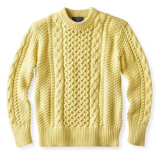 Chandail en tricot câblé pour femmes