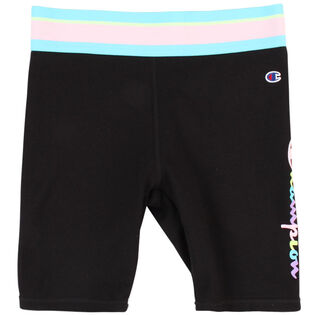 Junior Girls' [7-16] Elastic Waist Bike Short