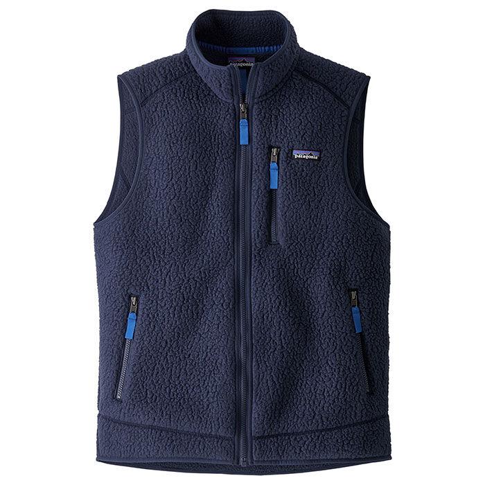 Men's Retro Pile Fleece Vest
