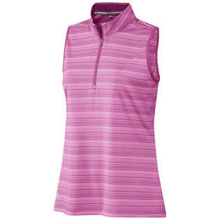 Women's Aeroready Zip Sleeveless Polo