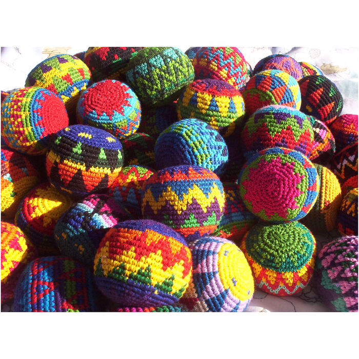 Deluxe Hacky Sack Footbags
