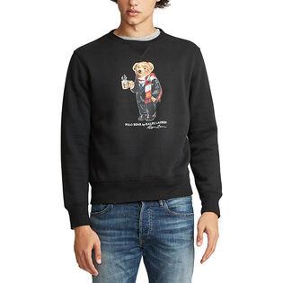 Men's Cocoa Bear Fleece Sweatshirt
