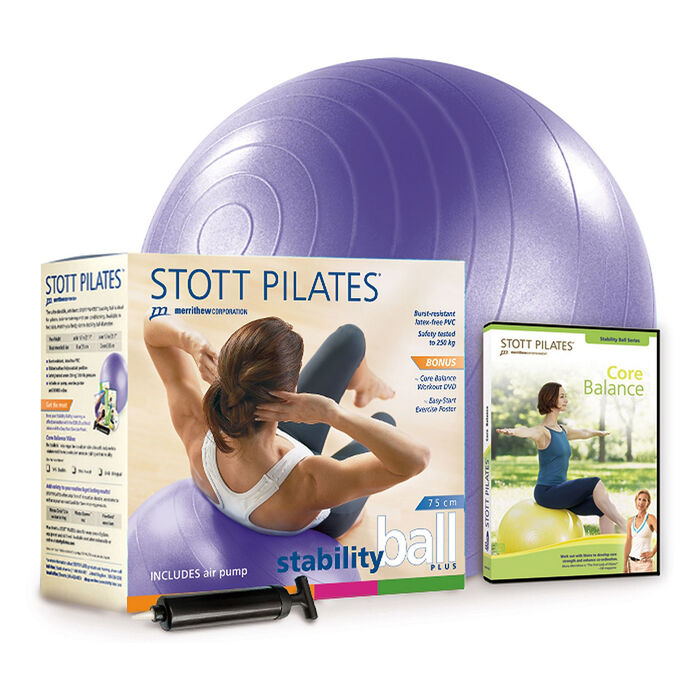 Stability Ball Power Pack 75Cm (Purple)