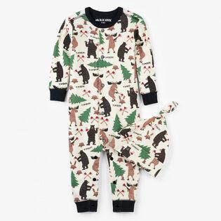 Baby Boys' [6-24M] Lumberjack Animals Coverall