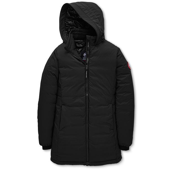 Women's Camp Hooded Matte Finish Jacket
