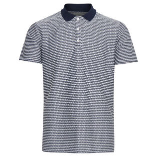 Men's Textured Polo