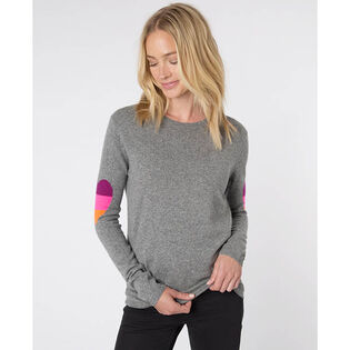 Women's Ines Fluro Heart Sweater
