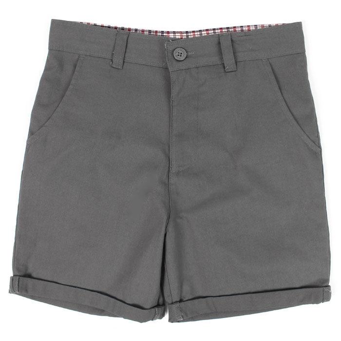 Short décontracté en coton pour garçons juniors [8-16]