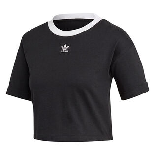 Women's Tiny Trefoil Crop T-Shirt