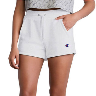 Women's Reverse Weave® Back-Logo Short