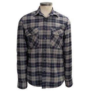 Men's Lined Flannel Shirt Jacket