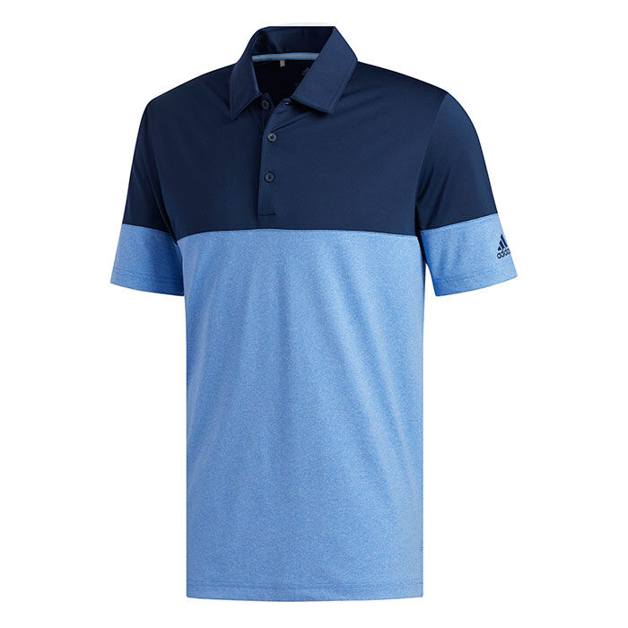 Men's Ultimate 365 Heathered Blocked Polo