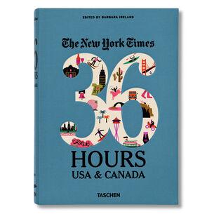 LIVRE 36 HOURS USA & CANADA DU NEW YORK TIMES
