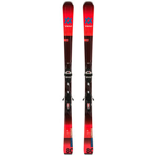 Skis Deacon 80 + fixations LowRide XL GW [2020]