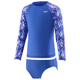 Girls' [4-6] Printed Rashguard Two-Piece Set