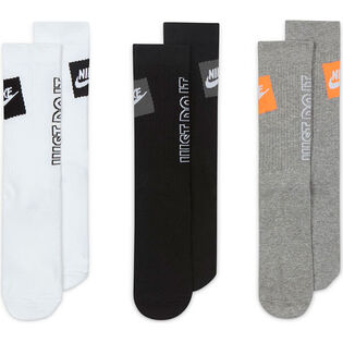 Men's Sportswear Everyday Essential Crew Sock (3 Pack)