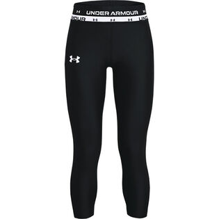 Junior Girls' [7-16] HeatGear® Armour Crop Legging