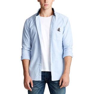 Men's Classic Fit Bear Oxford Shirt